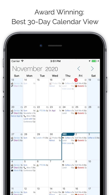 Informant 5 Calendar screenshot-0