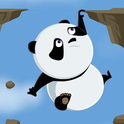 向上的熊猫悬崖大冒险