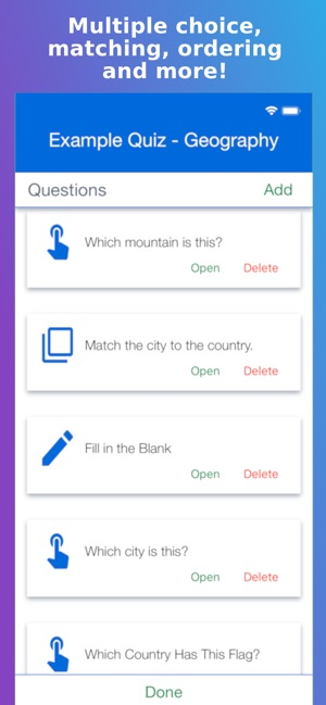 Topgrade Quiz Maker on the App Store