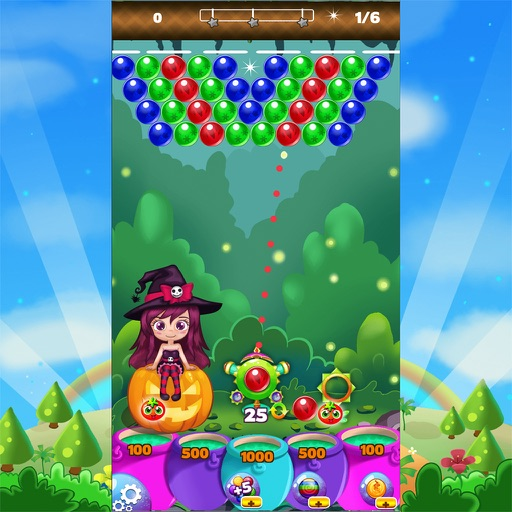 Bubble Shooter Flower World