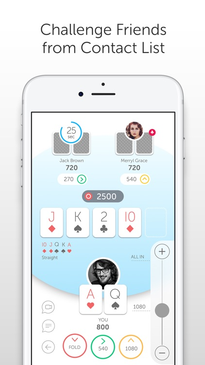 PokerUp: poker with friends