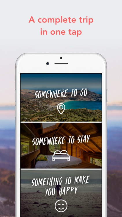 LuckyTrip - A trip in one tap