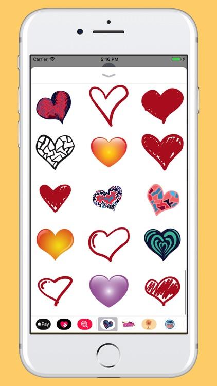 Hearts - Hand drawn pack screenshot-4