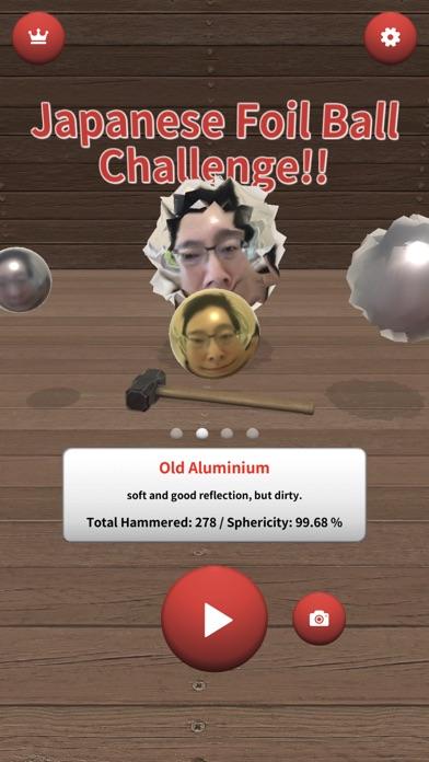 Japanese Foil Ball Challenge!!