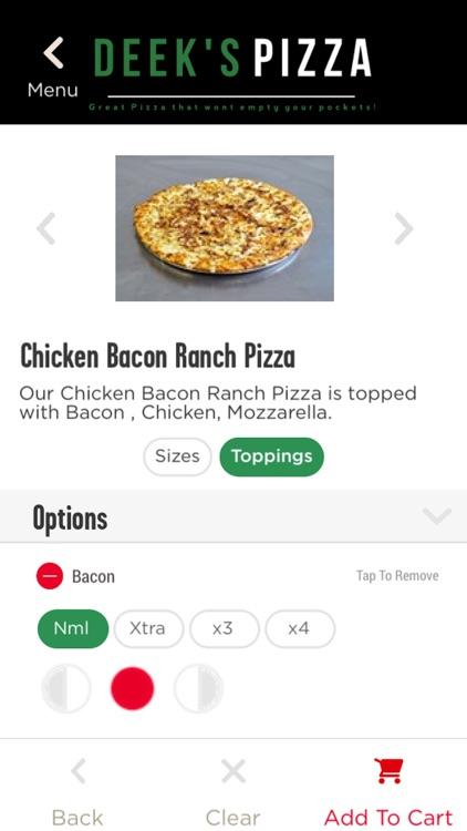 Deeks Pizza screenshot-3