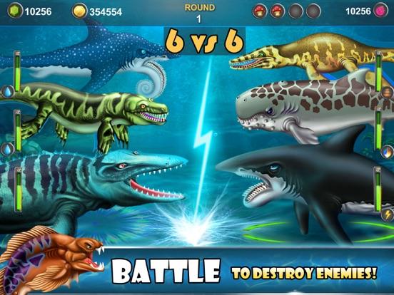 Dino Water World-Jurassic game для iPad