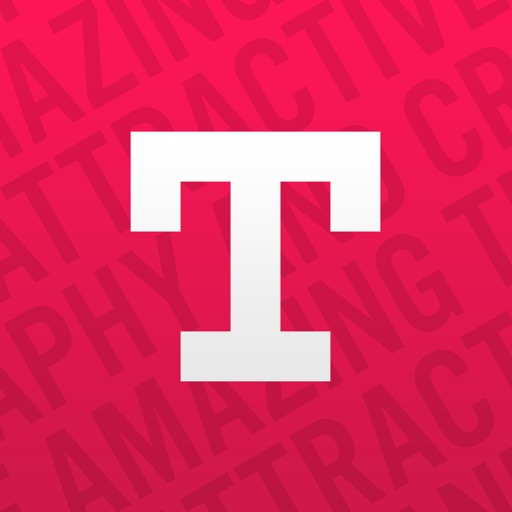 Typorama: Text on Photo Editor application logo