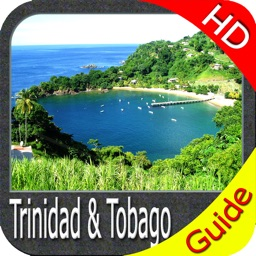 Trinidad & Tobago HD - Travel Map Navigator