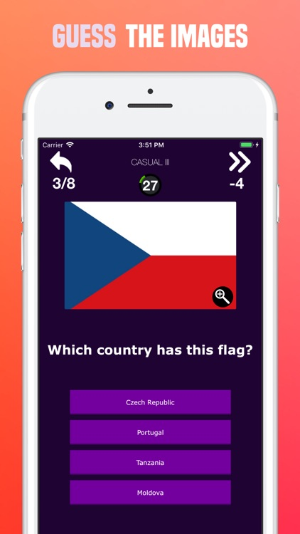 World Flags Quiz -Guess Trivia