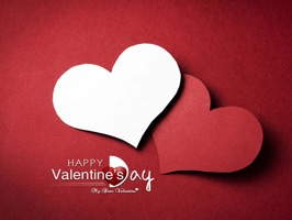 "A Collection Of Sticker Of iMessage For A Very Special Day ""Valentines's Day"