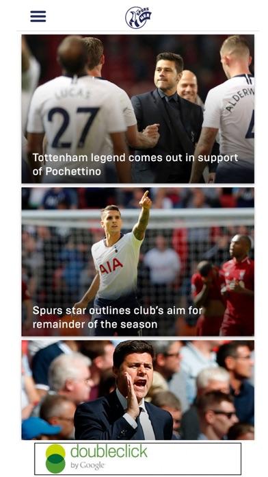 Spurs Web - Tottenham Hotspur screenshot one