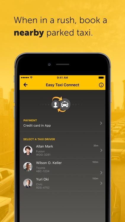 Easy - taxi, car, ridesharing screenshot-4