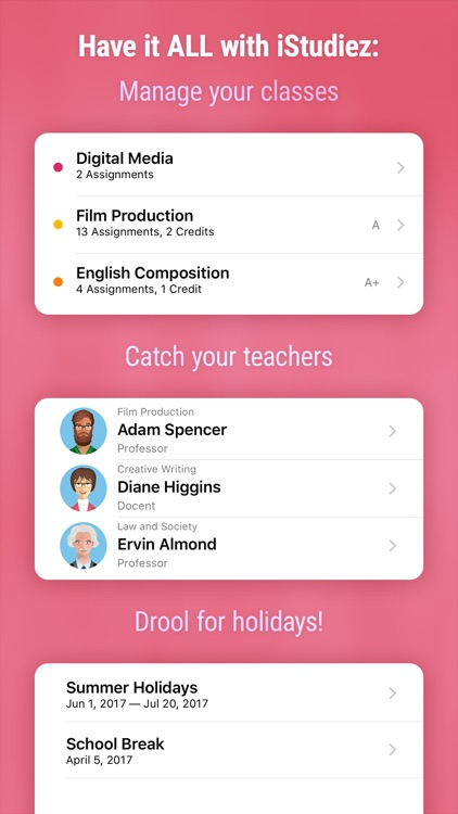 iStudiez Lite Student Planner screenshot-3