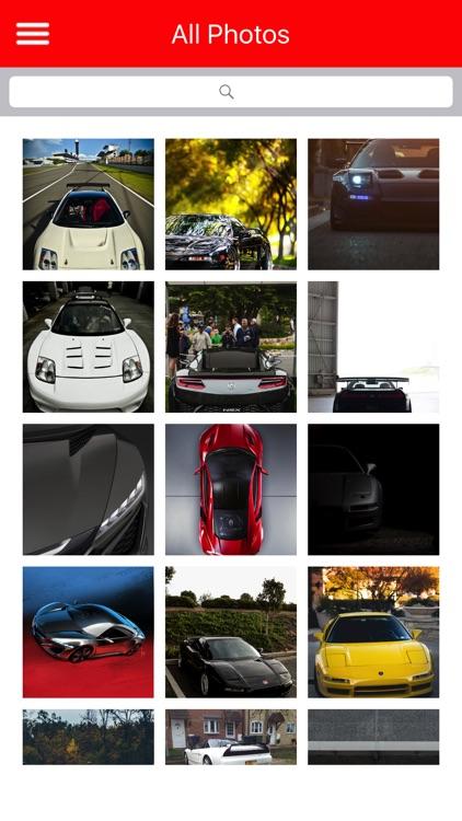 HD Car Wallpapers - Honda NSX Edition