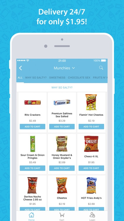 goPuff: Delivery of Snacks, Essentials & Ice Cream screenshot-1