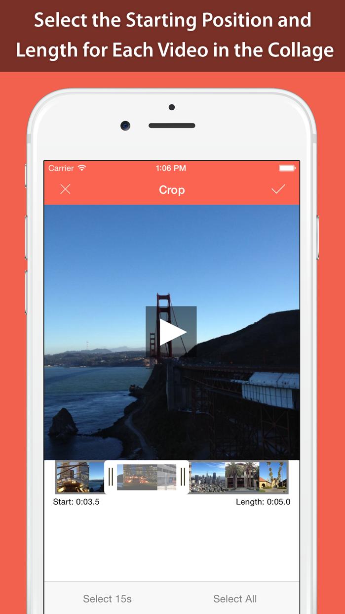 PhotoVideoCollage Pro Screenshot
