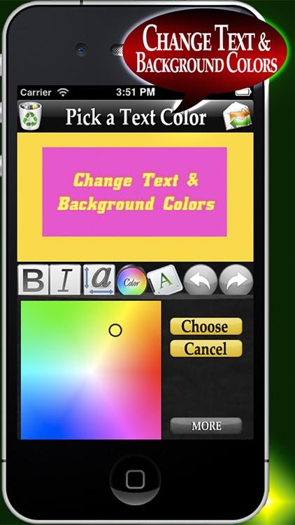 Fun Text- Stop The Boring Text screenshot-3