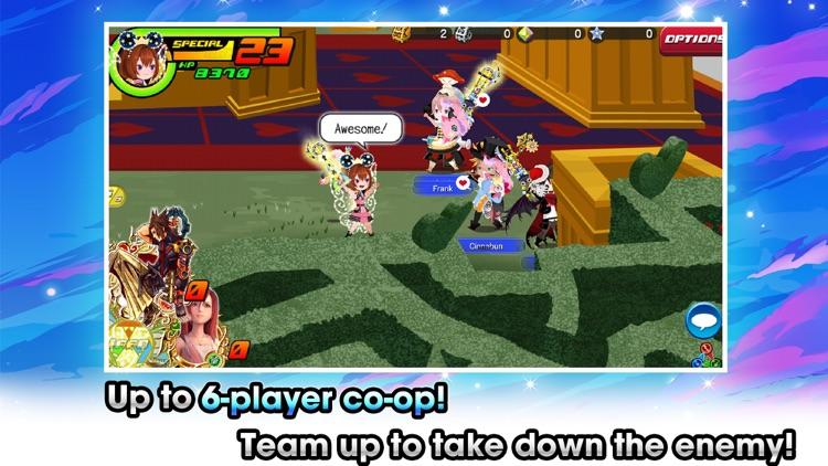 KINGDOM HEARTS Union χ[Cross] screenshot-3