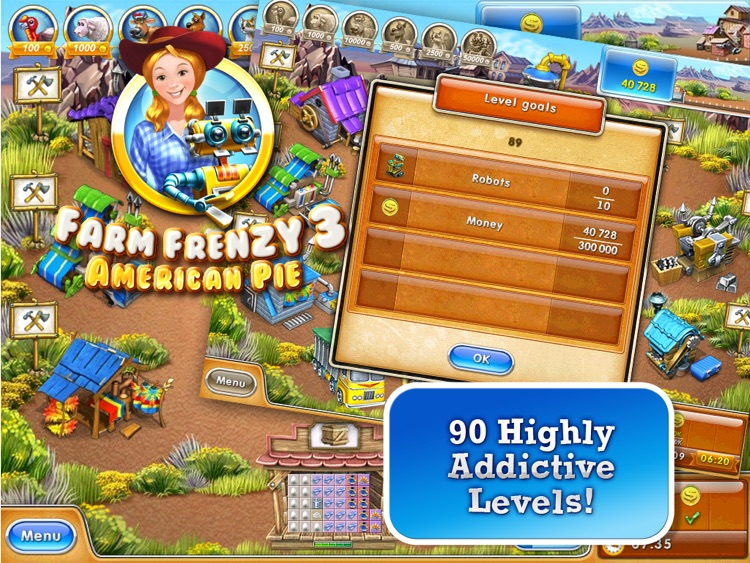 Farm Frenzy 3 American PieHD L screenshot-0