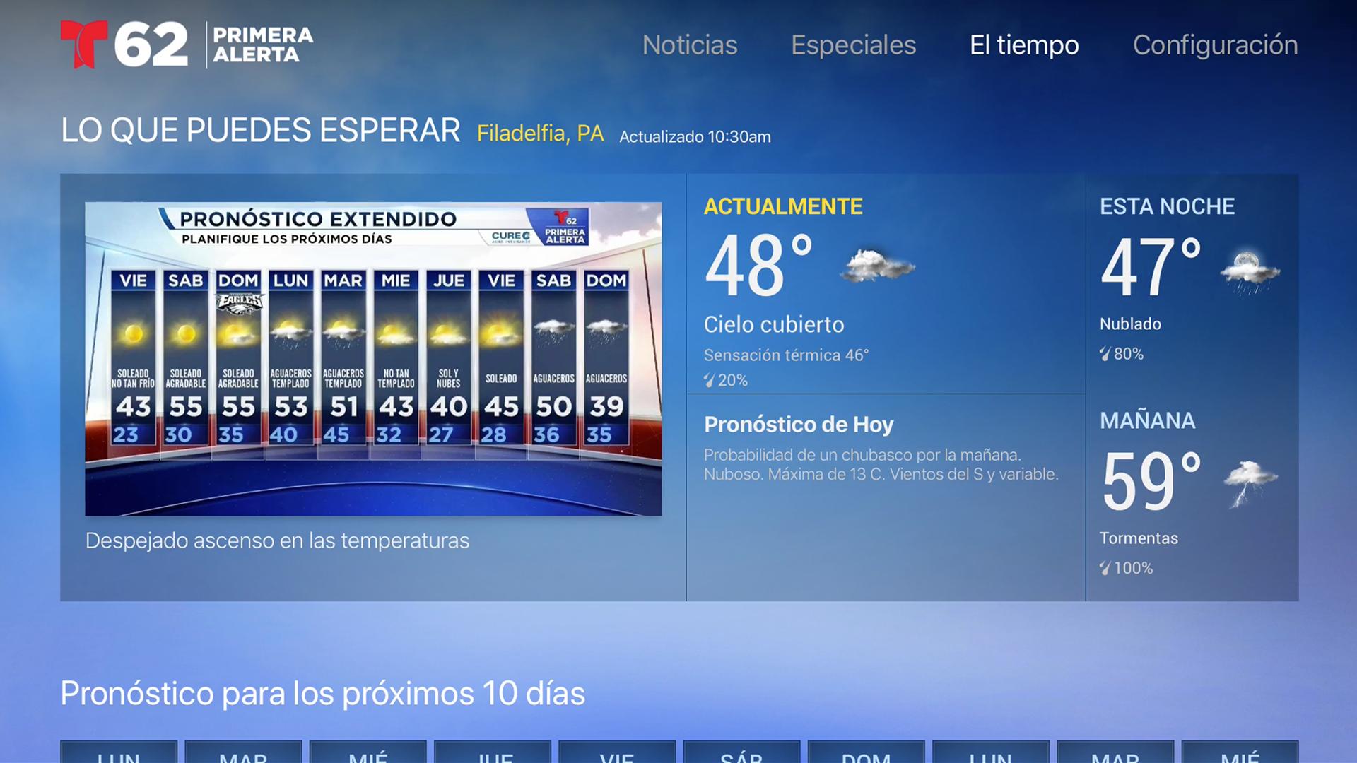 Telemundo62 screenshot 17