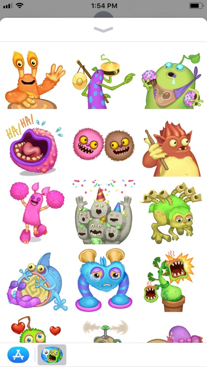 My Singing Monsters Stickers