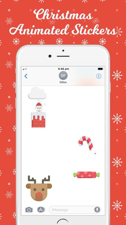 Christmas Animated Stickers screenshot-4
