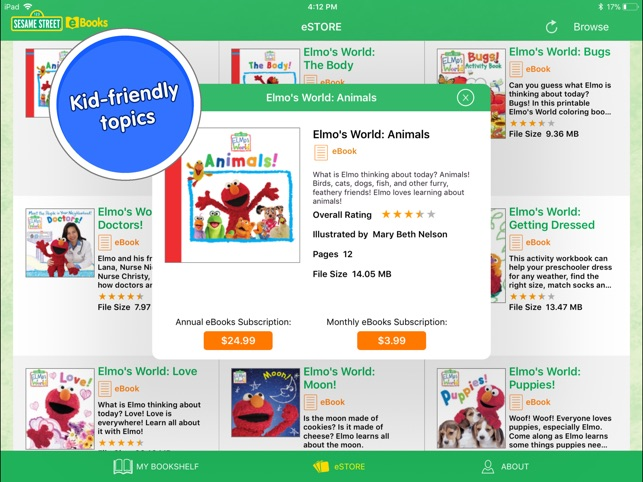 Sesame street ebooks for ipad on the app store sesame street ebooks for ipad on the app store fandeluxe Image collections