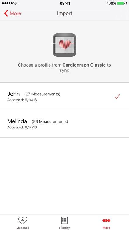 Cardiograph screenshot-4