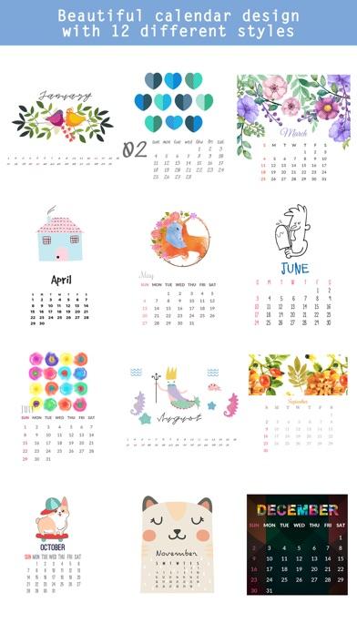 2018 Calendar & Celebrations screenshot 2
