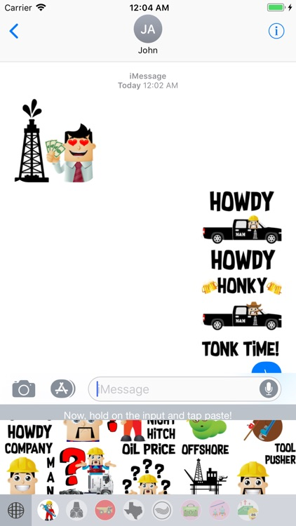 Oilfield Moji-Oilpatch Emoji