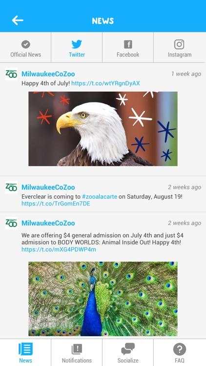 Milwaukee Zoo a la Carte screenshot-3