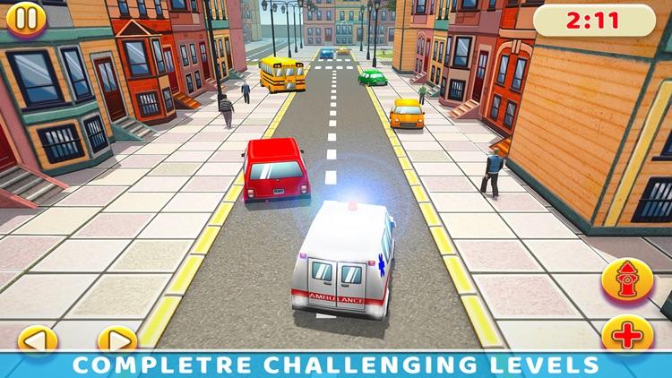 City Ambulance Simulator Games screenshot-4