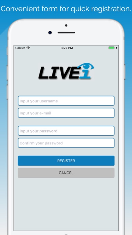 LIVEiNEWS MOBILE screenshot-1