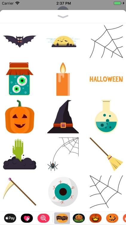 Happy Halloween Crawly Sticker