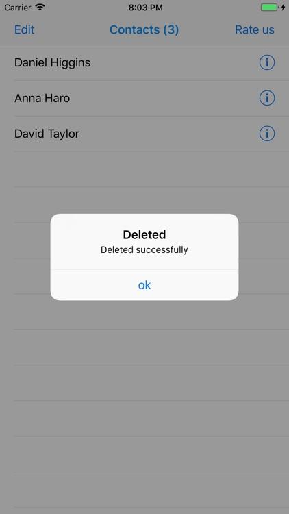 Delete Contacts Pro screenshot-4
