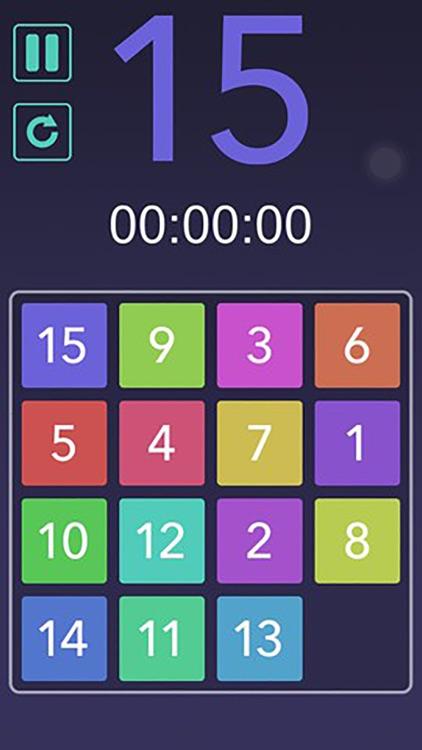 15 Number Puzzle Challenge