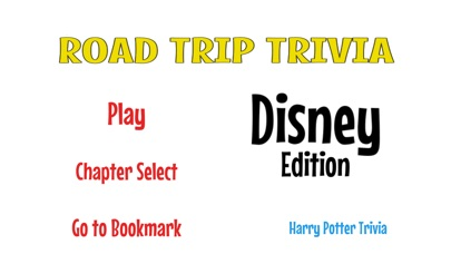 RoadTrip Trivia Disney Edition Screenshot