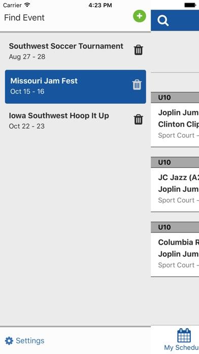 Screenshot for TeamSnap Tournaments in Canada App Store