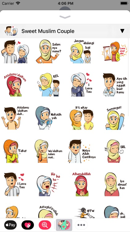Muslim Stickers App screenshot-2