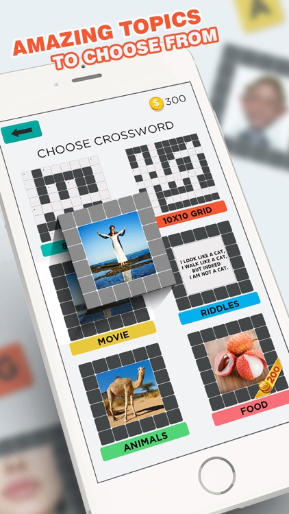 Pic Crossword Puzzles and Quiz screenshot-0