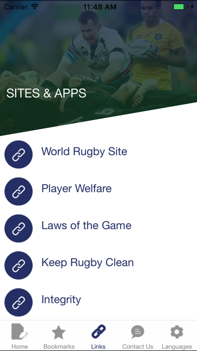 World Rugby Handbook screenshot four