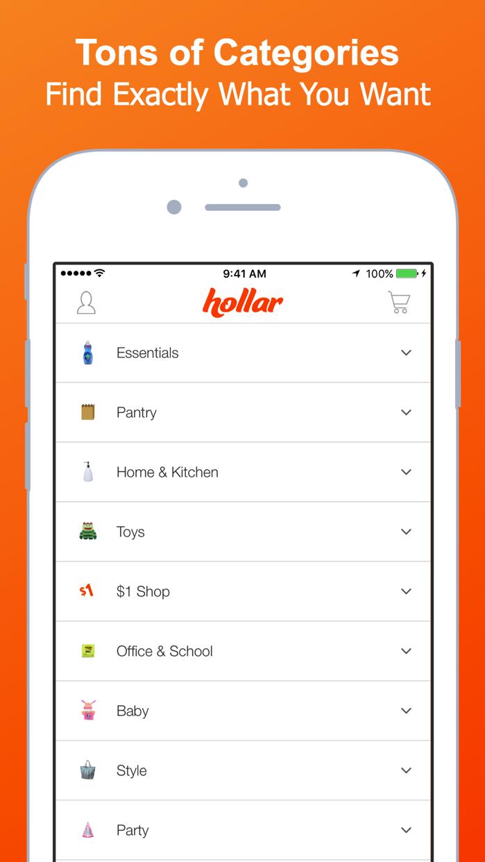 Hollar Screenshot