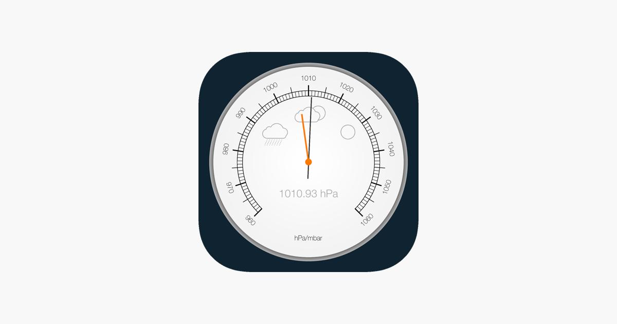 Barometer & Altimeter Pro on the App Store