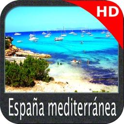 Spain Mediterranean HD Charts
