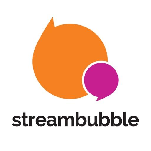 Streambubble Amplify iOS App