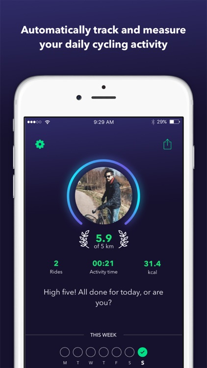 ByCycling — Automatic Tracker