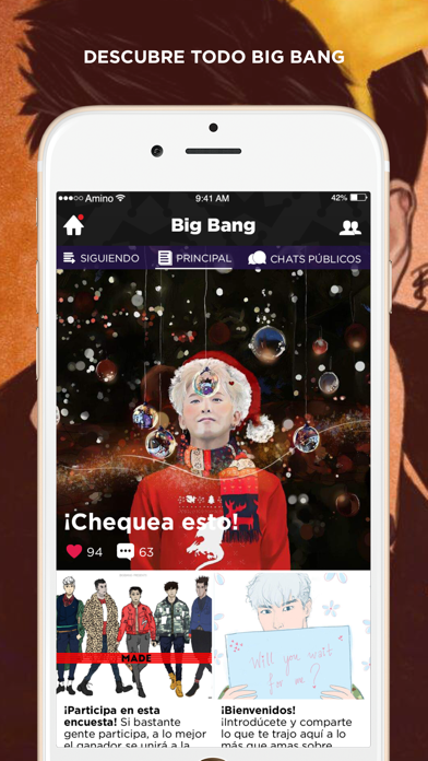 VIP Amino para BIGBANG screenshot one