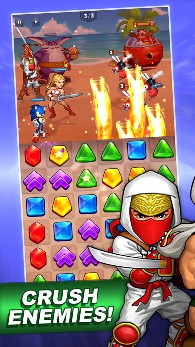 SEGA Heroes: Match 3 RPG Game screenshot 4