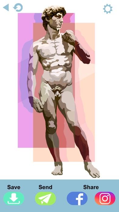 大人の塗り絵 ジグソーパズルスクリーンショット8