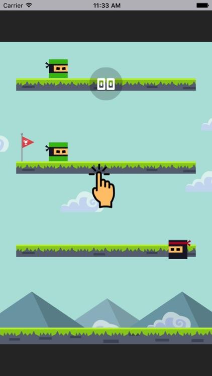 忍者世界-敏捷类跳跃动作小游戏
